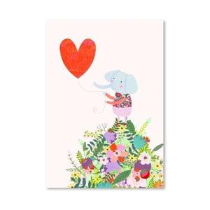 Plagát od Mia Charro - Elephant Heart