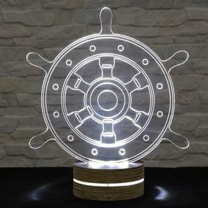 3D stolová lampa Rudder