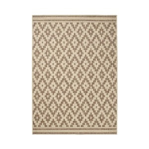 Hnedý koberec Think Rugs Cottage,160x220cm