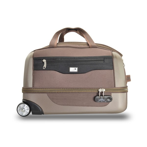 Sada 2 cestovních tašek na kolečkách Roulettes Brown
