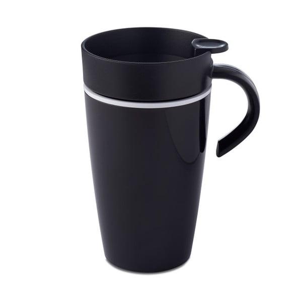 Čierny termohrnček Rosti Mepal Thermo, 275 ml