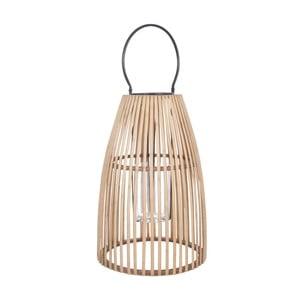 Bambusový tmavý lampáš J-Line Nat