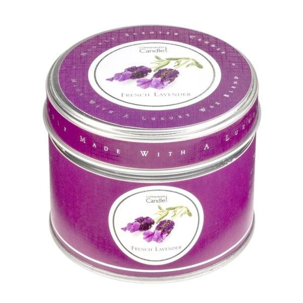 Aroma sviečka v plechovke  French Lavender, doba horenia 32 hodín