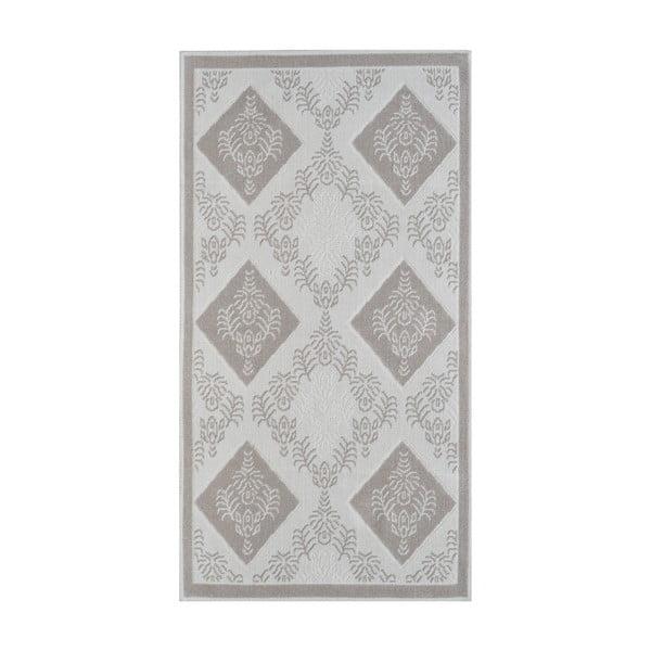 Béžový odolný koberec Vitaus Azalea, 80x200cm