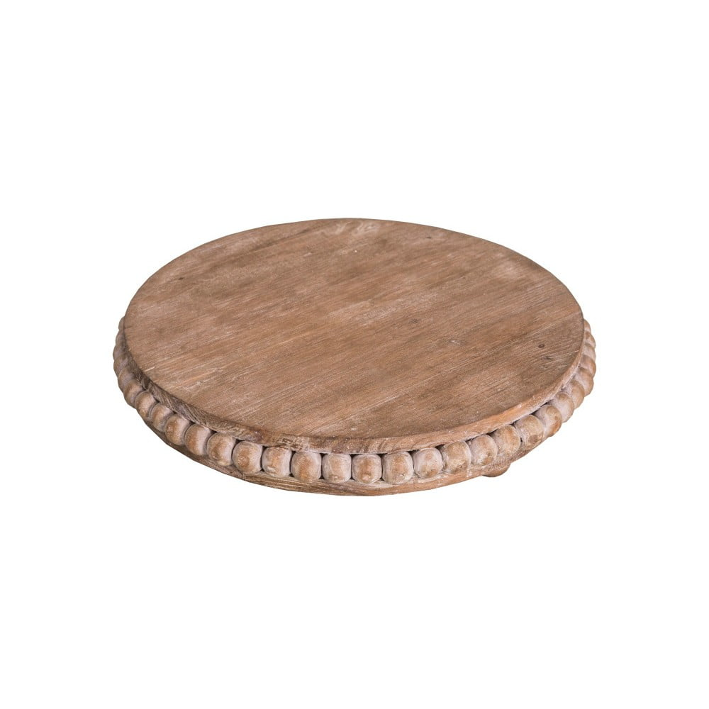 Drevená podložka pod tanier Antic Line, ⌀ 27,5 cm