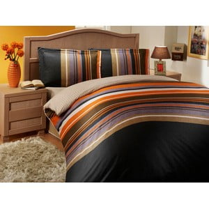 Sada obliečok a plachty Nature Stripes, 200x220 cm