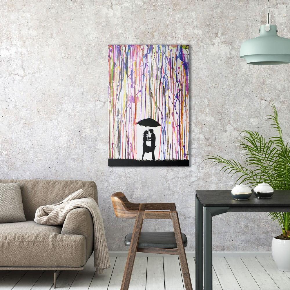 Obraz na plátne OrangeWallz Couple, 60 x 90 cm