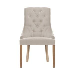 Krémová stolička Jalouse Maison Chiara