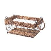 Prútený košík Wicker, 23 cm