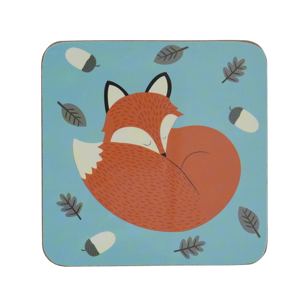 Detská podložka pod pohár Rex London Rusty The Fox, 10,5 x 10,5 cm