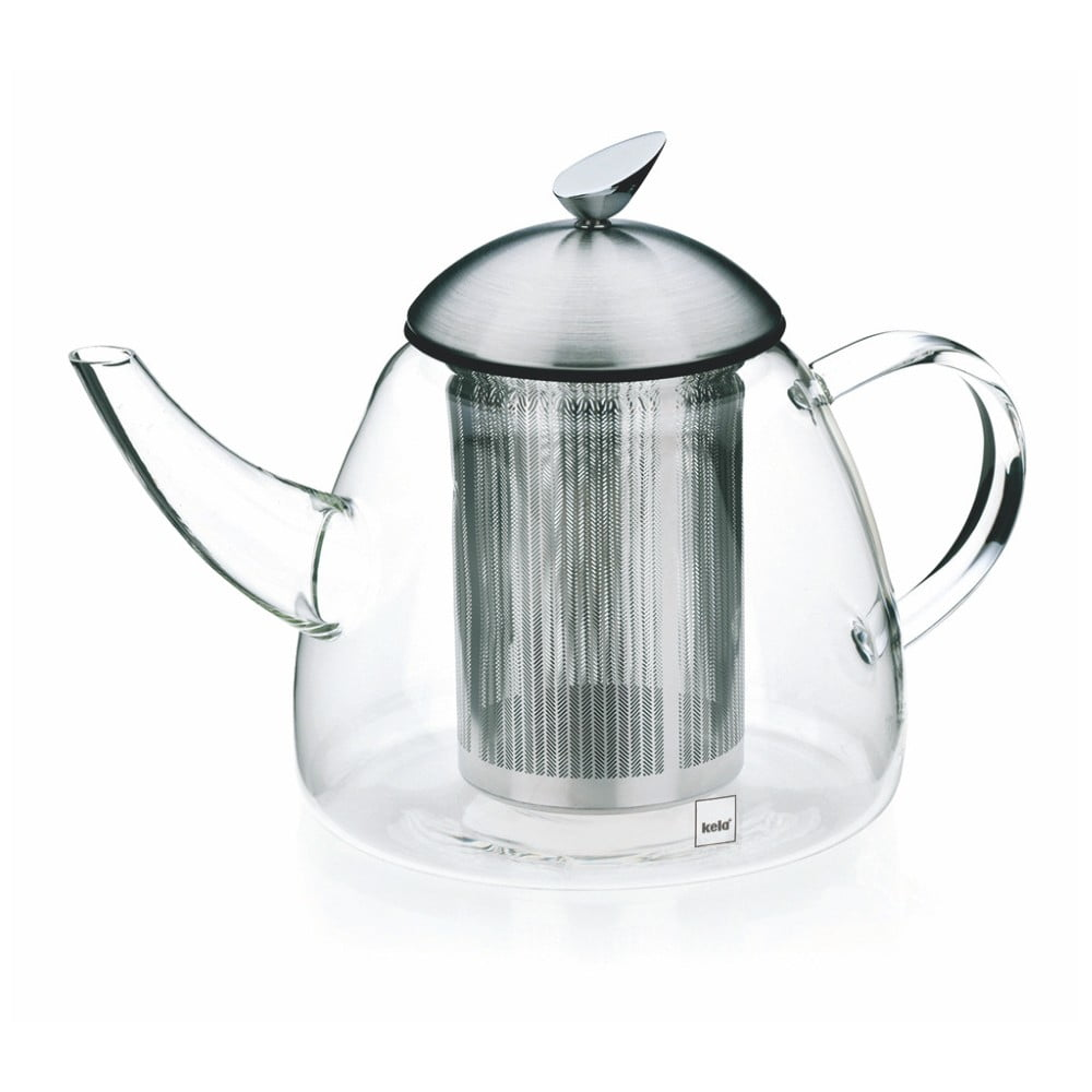 Sklenená kanvica na čaj so sítkom Kela Aurora, 1,3 l