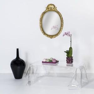 Konferenční stolík Drappeggi Tavolino Transparente
