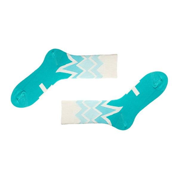 Ponožky Creative Gifts Fitzroy Azure, vysoké