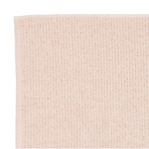 Sada 2 béžových froté uterákov Casa Di Bassi Stripe, 50 x 100 cm