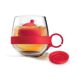 Hrnček Tea Ball, červený