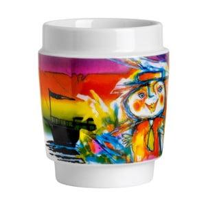 Sada 2 ks porcelánových hrnčekov Steel Function Art Cups