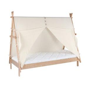 Detská posteľ z borovicového dreva BLN Kids Apache, 200 x 90 cm