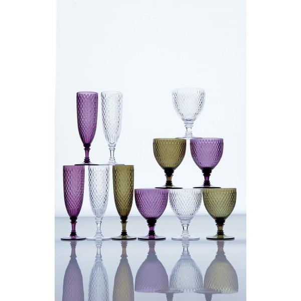 Červený vínny pohár Kinto Rosette