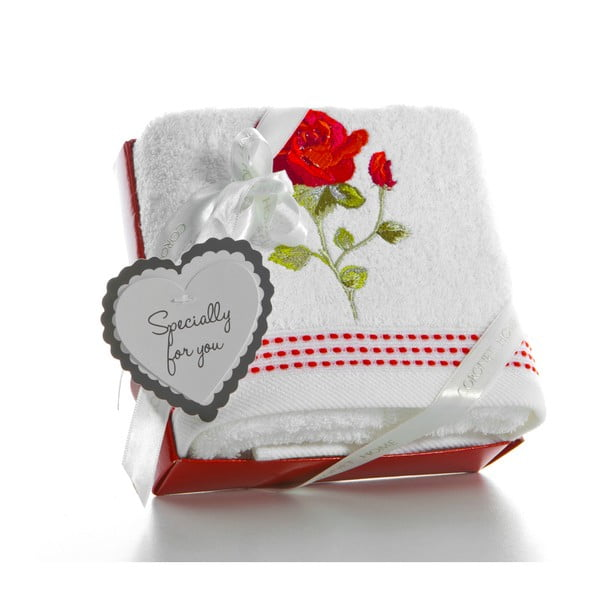 Osuška v darčekovom balení Cortek V4, 50x90 cm