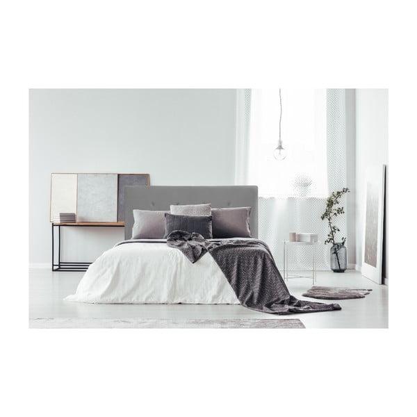 Tmavosivá posteľ s prírodnými nohami Vivonita Kent, 180 × 200 cm