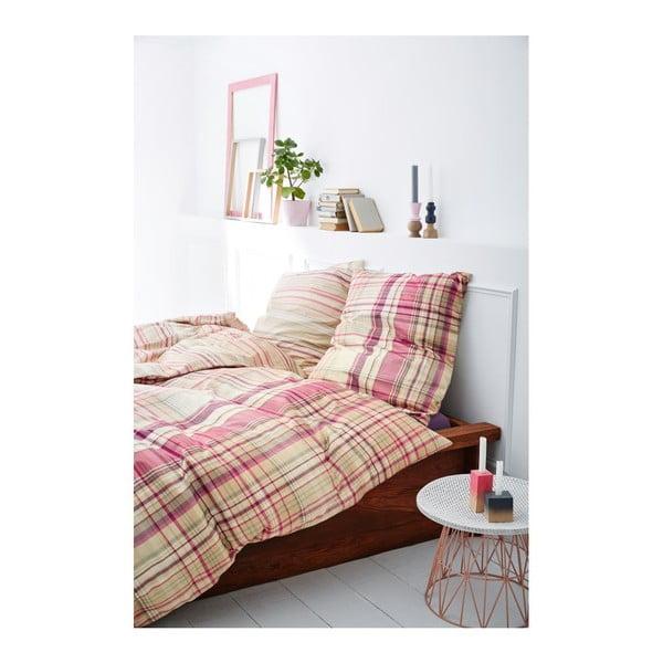 Obliečky Fine Flannel Natural, 140x200 cm