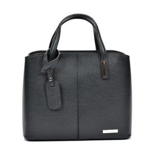 Čierna kožená kabelka Sofia Cardoni Prisca