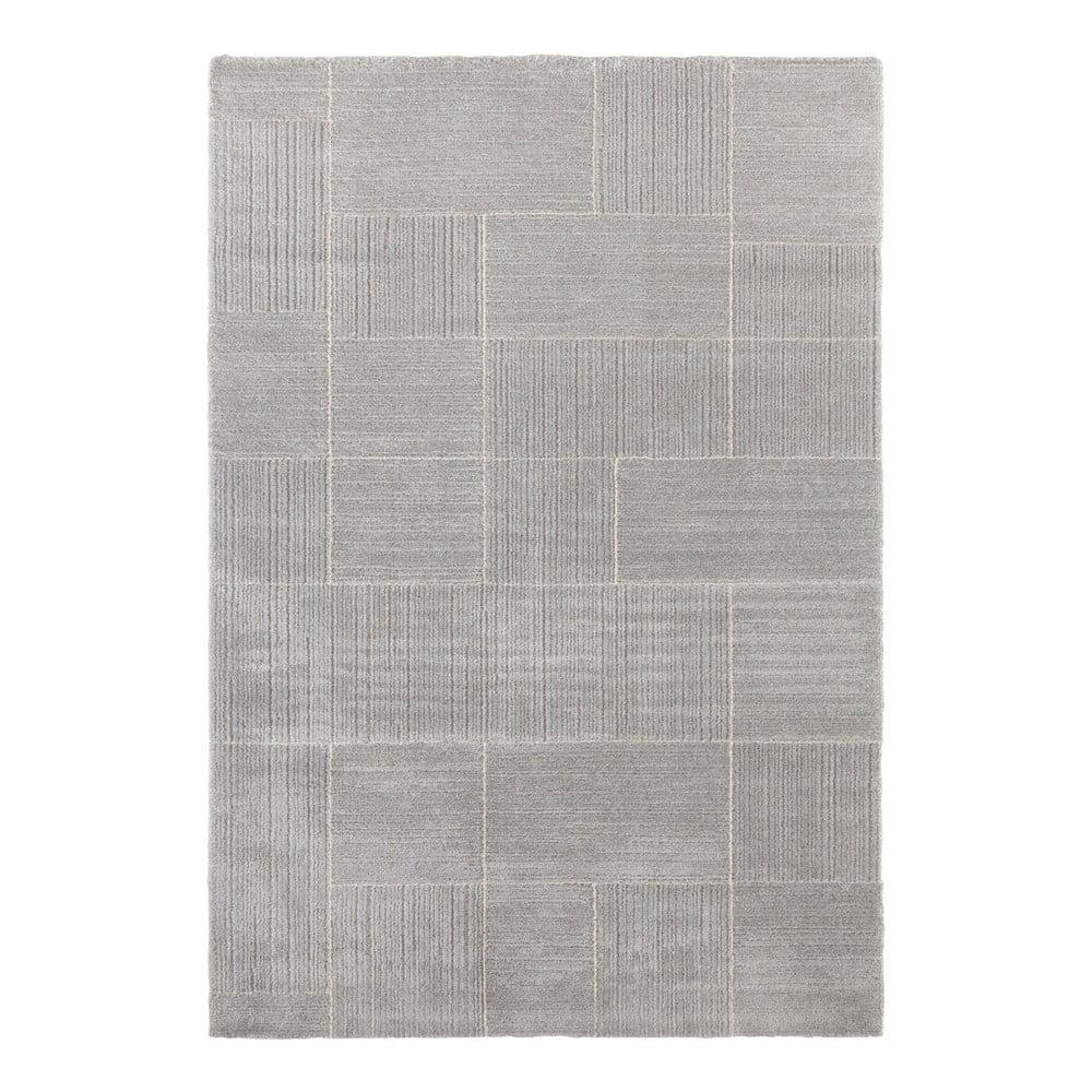 Svetlosivý koberec Elle Decor Glow Castres, 80 x 150 cm