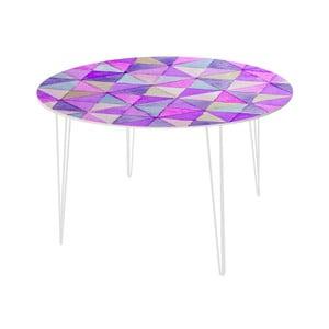 Jedálenský stôl Triangle Mosaic, 120 cm