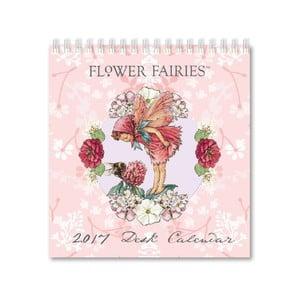 Stolový kalendár Portico Designs Flower Fairies
