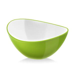 Zelená šalátová misa Vialli Design, 25 cm