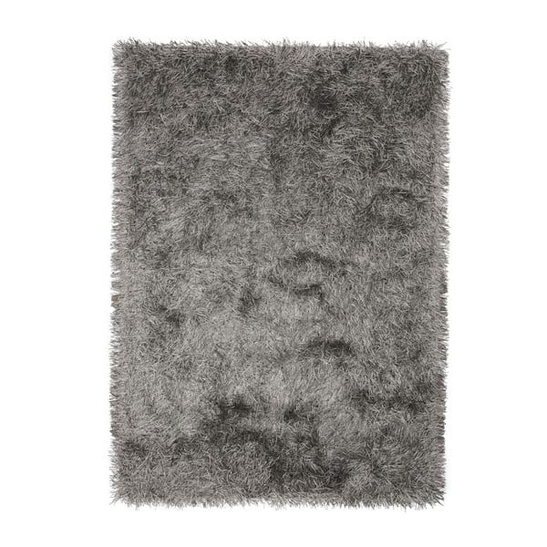 Sivý ručne tkaný vlnený koberec Linie Design Dishy, 200x300cm