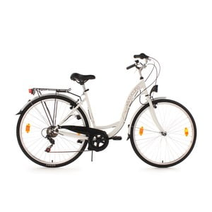 Dámsky bicykel City Bike Eden White, 28""