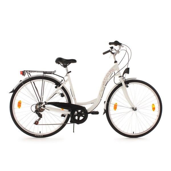 "Dámsky bicykel City Bike Eden White, 28"""