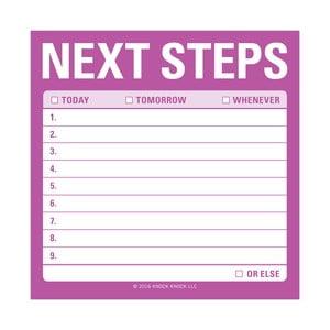 Lepiace papieriky Next Steps