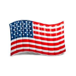 Nafukovací matrac v tvare americkej vlajky Big Mouth Inc.