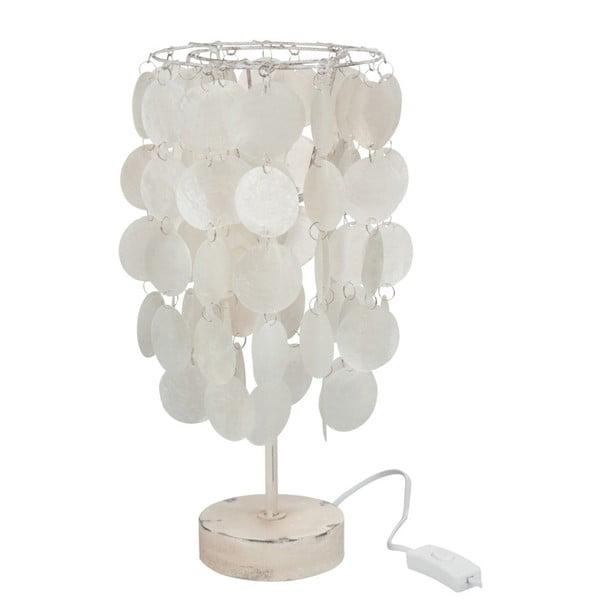 Biela lasturová stolová lampa J-Line