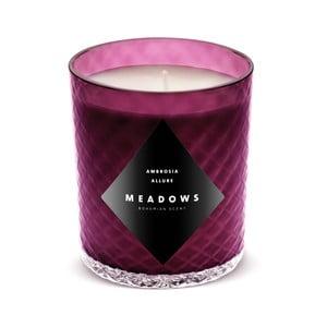 Sviečka s vôňou čiernych ríbezlí, hrozna a mandarínkových listov Meadows Ambrosia Allure,60hodínhorenia