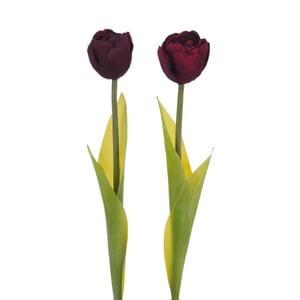 Sada dvoch kusov umelých tulipánov