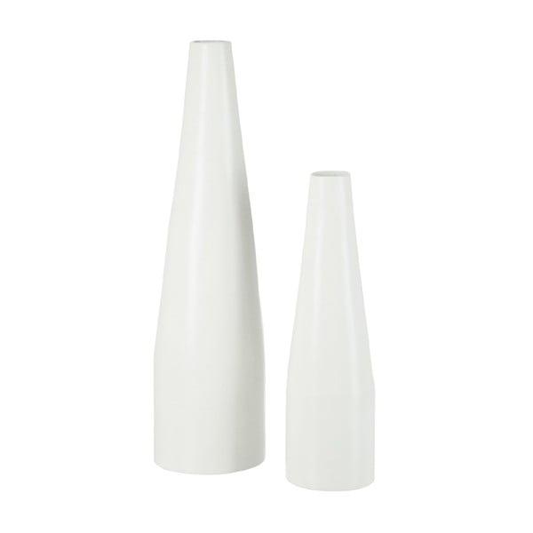 Babusová váza Bamboo White, 62 cm