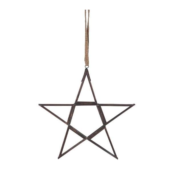 Set 6 dekorácií Hanging Star