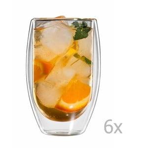 Sada 6 pohárov na čaj bloomix Tetouan