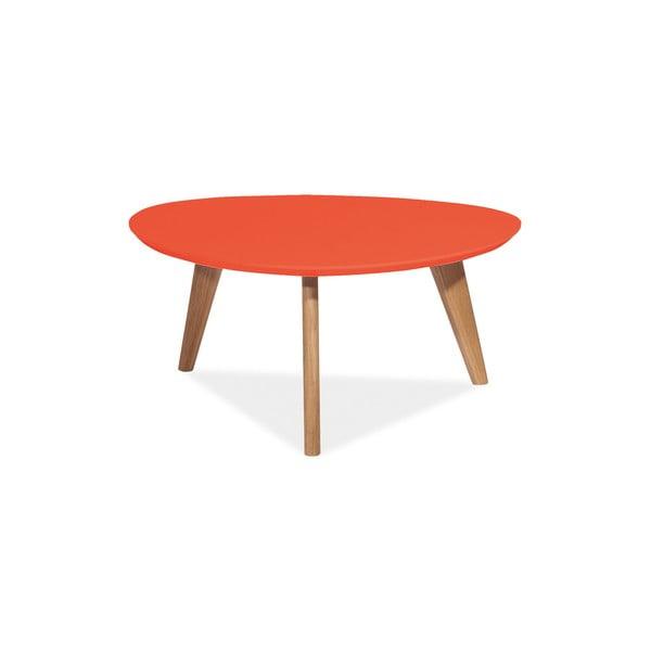 Konferenčný stolík Milan 80 cm, červený