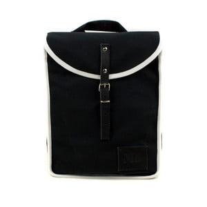 Čierny batoh s bielym detailom Mödernaked White Heap