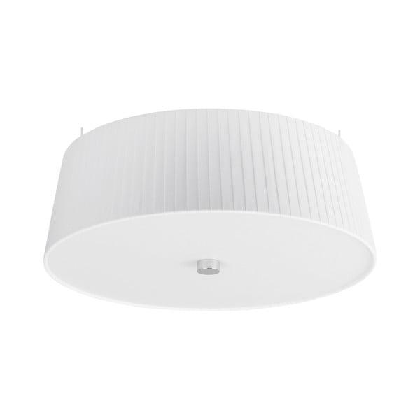 Biele stropné svietidlo Bulb Attack Dos Plisado, ⌀36cm