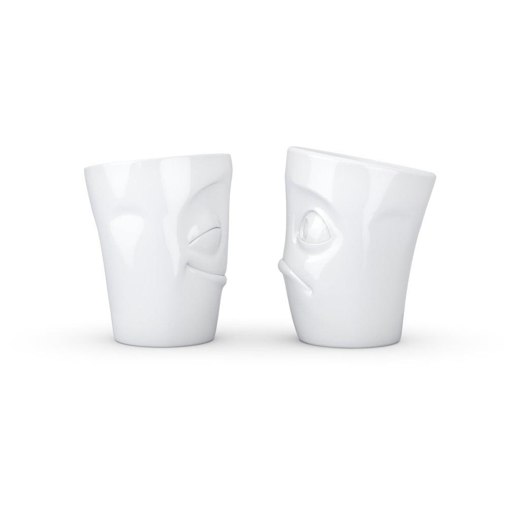 Sada 2 bielych hrnčekov 58 products