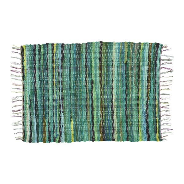 Koberec Athezza Bana Green, 60x90 cm