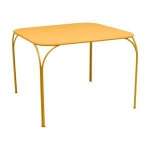 Žltý záhradný stolík Fermob Kintbury