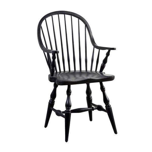 Čierna stolička Canett Wembley