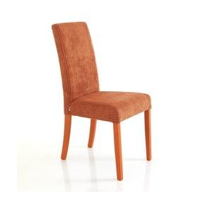 Sada 2 oranžových jedálenských stoličiek Tomasucci Mary