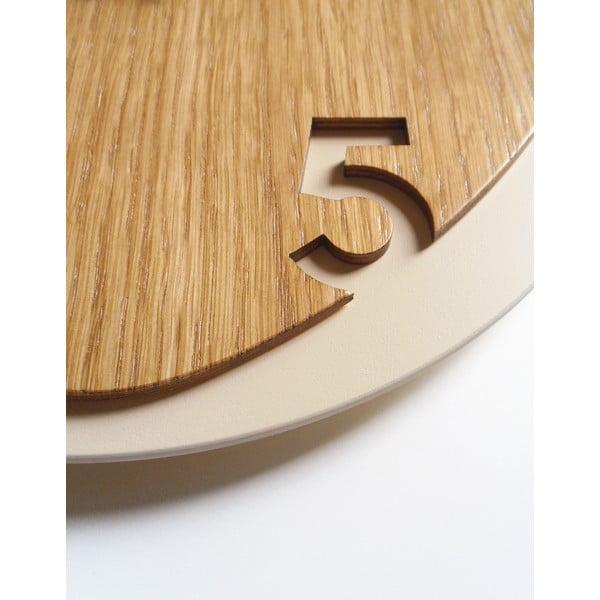 Hodiny Clock25 Light Wood